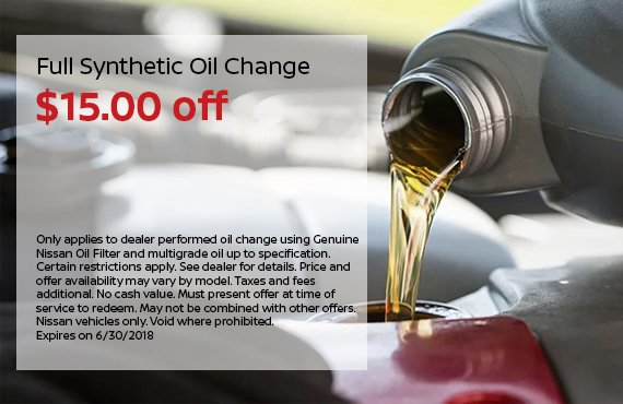 Oil Change Homepage Tile 6-30-18