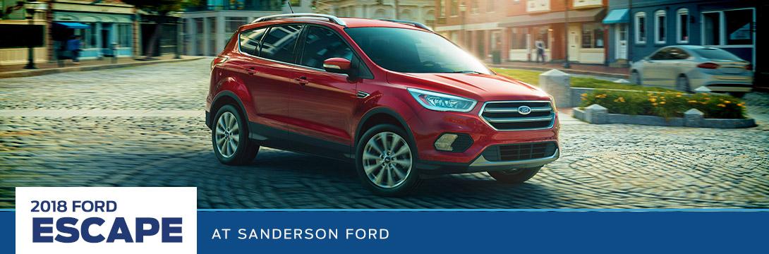 2018 ford suv lineup | sanderson ford, az
