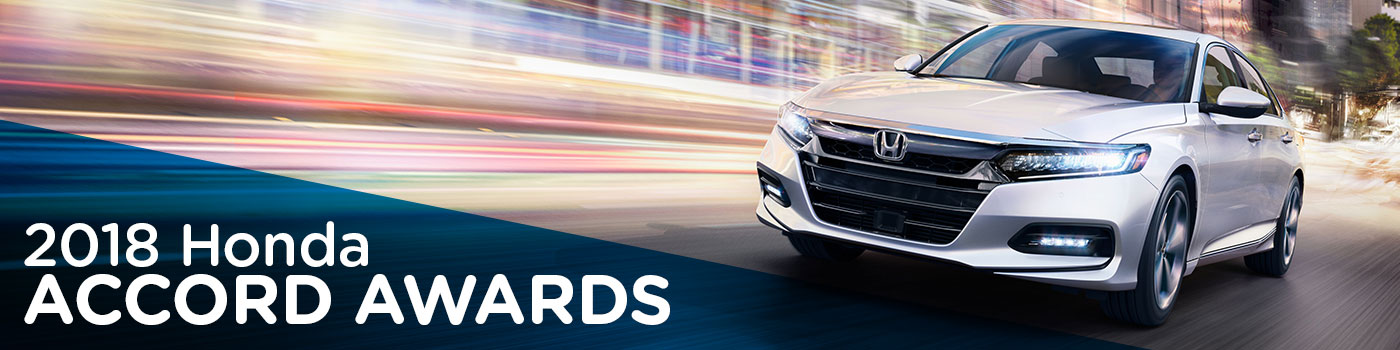 2018 Honda Accord Awards | Don Wessel Honda | Best New Cars Springfield, MO