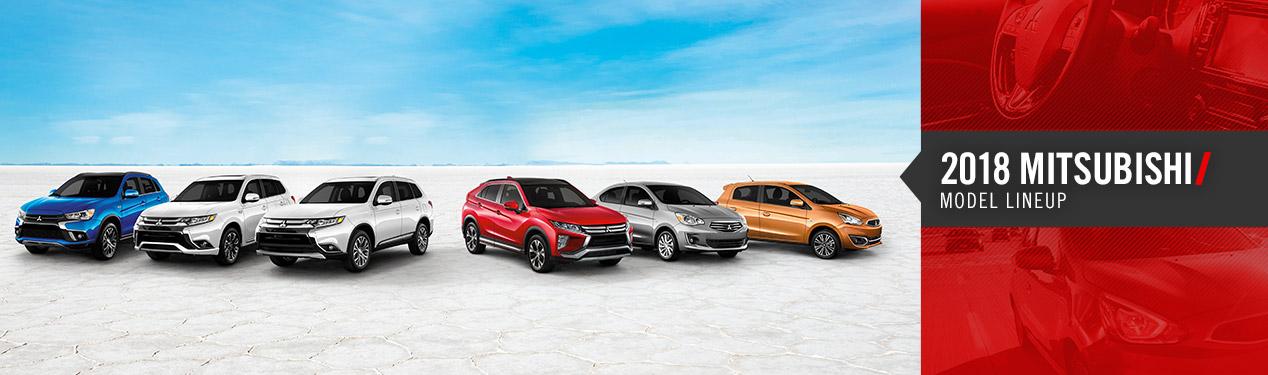 2018 Mitsubishi Model Lineup