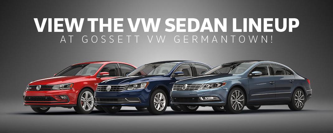 volkswagen sedan lineup gossett vw germantown memphis tn