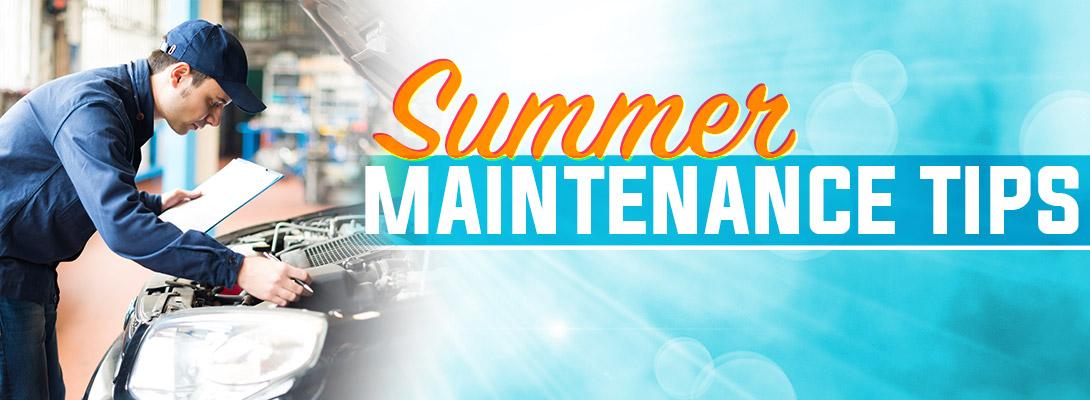 Summer Maintenance Tips Union Park Honda Wilmington De