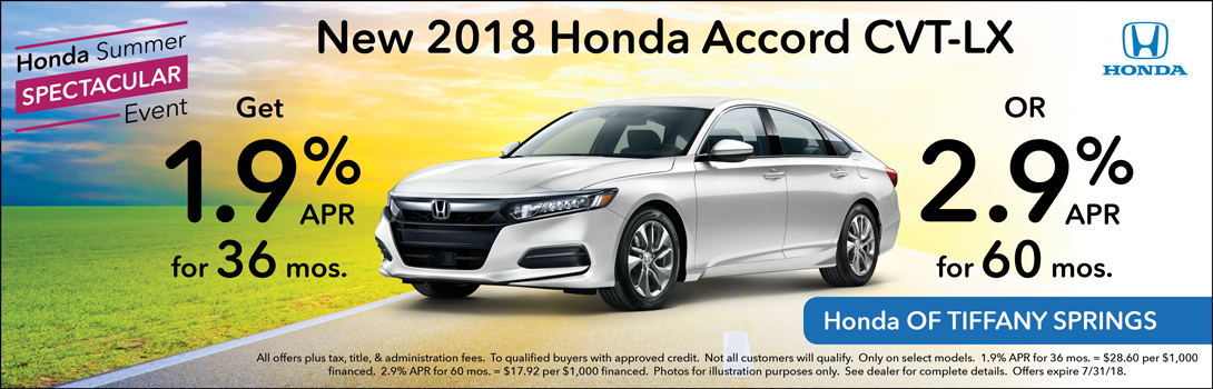 2018 Honda Accord CVT-LX