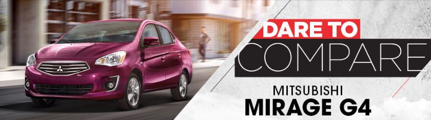 Compare The Mitsubishi Mirage G4 | St. Cloud, MN