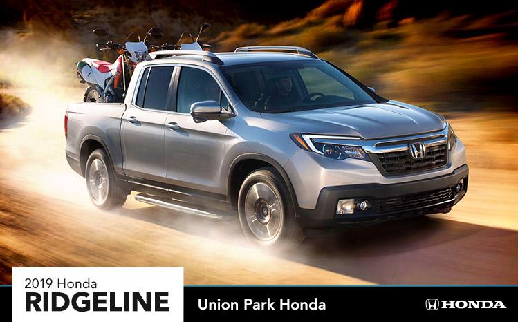 2019 Honda Ridgeline Union Park Honda Wilmington De