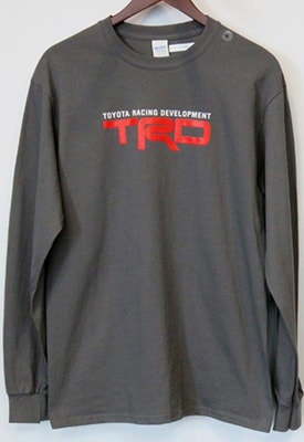 TRD Long Sleeve Shirt - Unisex - Grey.jpg