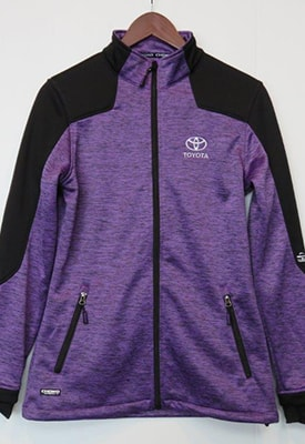 Fleece Jacket - Womens -  Purple Heather.jpg