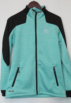 Fleece Jacket - Womens - Mint Melange.jpg