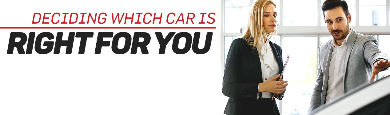 Deciding Which Car is Right For You | Beckley, WV