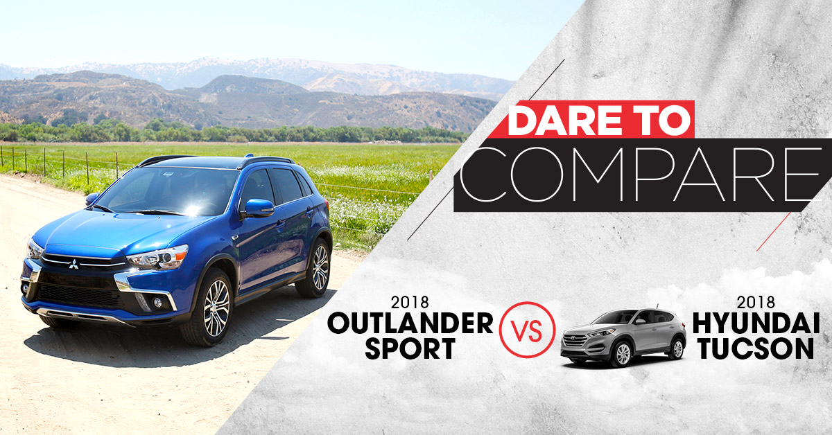2018 Outlander Sport vs. Tucson | Don Robinson Mitsubishi | St. Cloud, MN