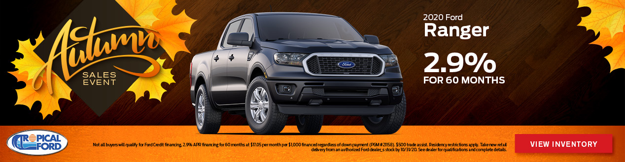 2020 Ford Ranger | Tropical Ford | Orlando, FL