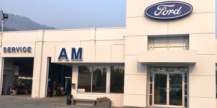 AM Ford Dealership