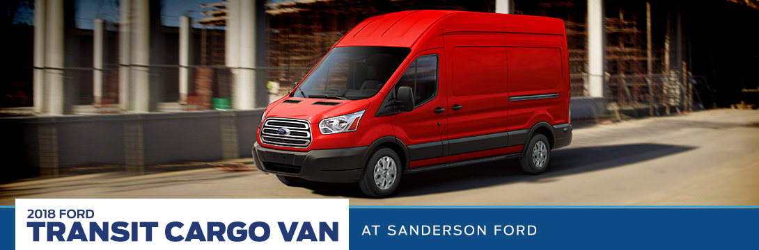 2018 Ford Transit Cargo Van Vehicle Spotlight | Sanderson Ford | Phoenix, AZ