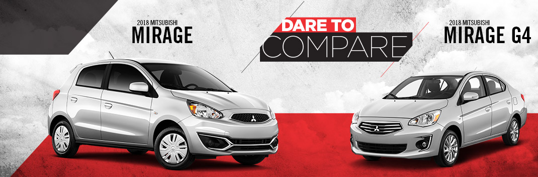 2018 Mirage vs. 2018 Mirage G4 | Tom Hodges Mitsubishi | Hollywood, MD