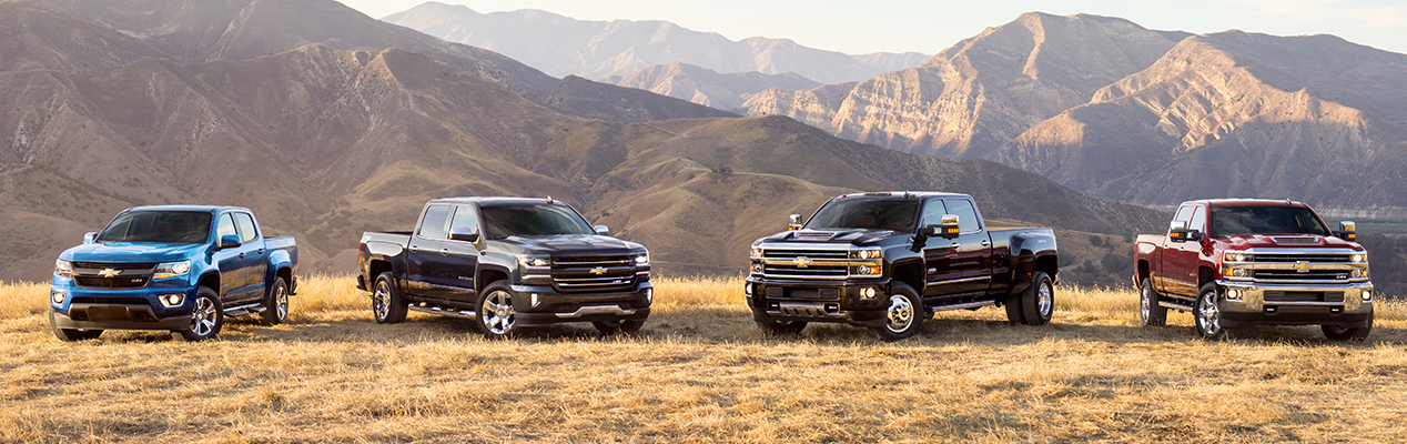 Chevrolet Trucks Model Lineup | Casey Auto