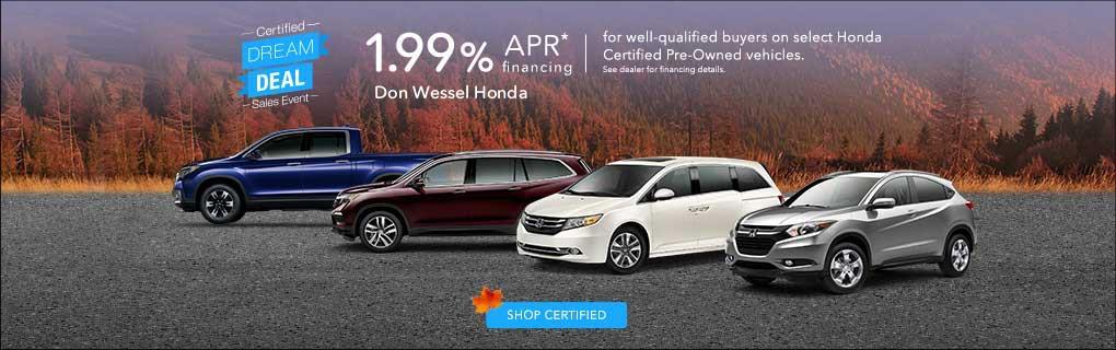 Don Wessel Honda   Car Dealerships In Springfield, MO