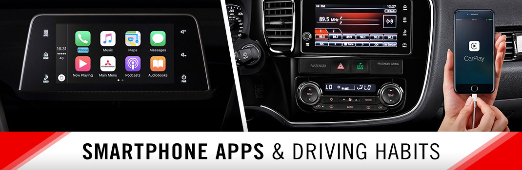Smartphone Apps & Driving Habits with Mitsubishi Road Assist | Lafayette, LA