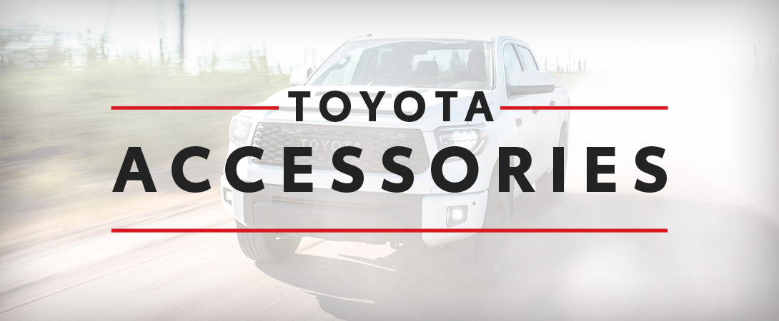 Toyota Accessories in High River Toyota | Calgary, AB