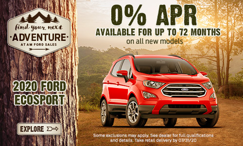 2020 Ford EcoSport | AM Ford | Trail, BC