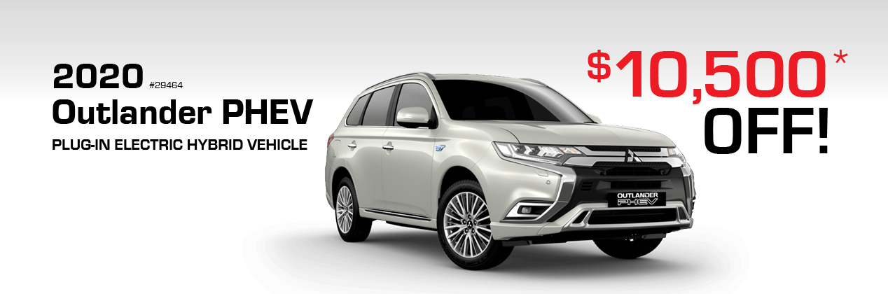 2020 Outlander PHEV $10,500 off!