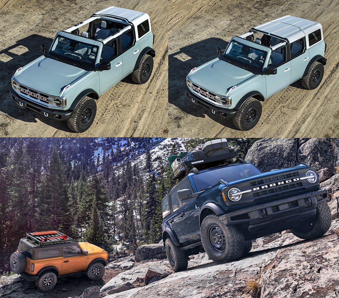 2021 Ford Bronco Downtown Ford Toronto On