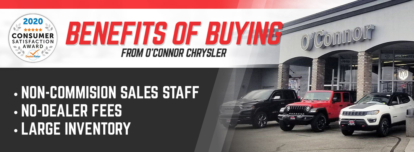 Why Buy From O'Connor Chrysler in Chilliwack, BC