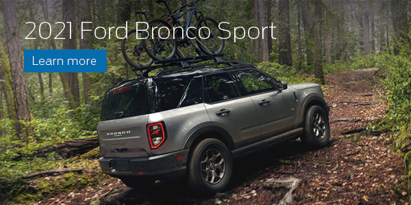 Click Here to Learn More About 2021 Ford Bronco Sport