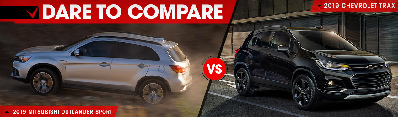2019 Mitsubishi Outlander Sport vs. 2019 Chevrolet Trax | Beckley, WV
