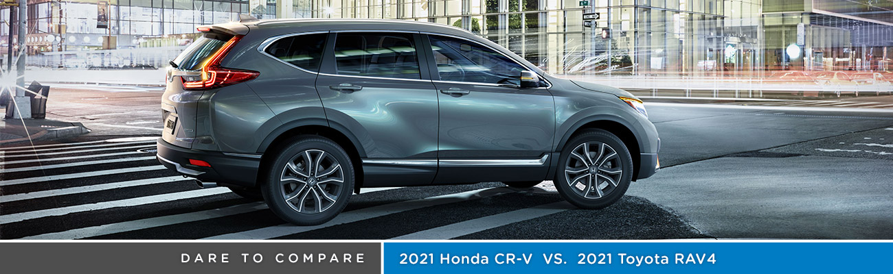 2021 Honda CR-V vs 2021 Toyota RAV4 | Vallejo, CA | Avery Greene Honda