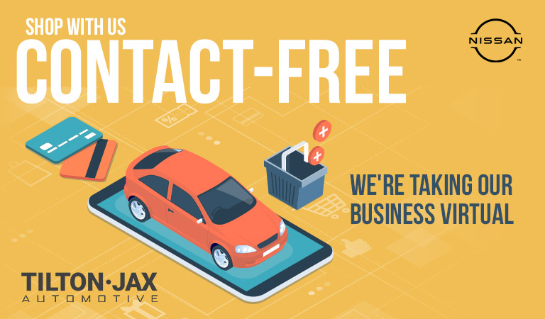 Tilton-Jax Nissan Is Contact-Free | Quad Cities, IA