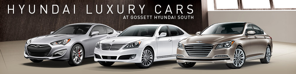 Hyundai Luxury Cars In Memphis Tn Gossett Hyundai South