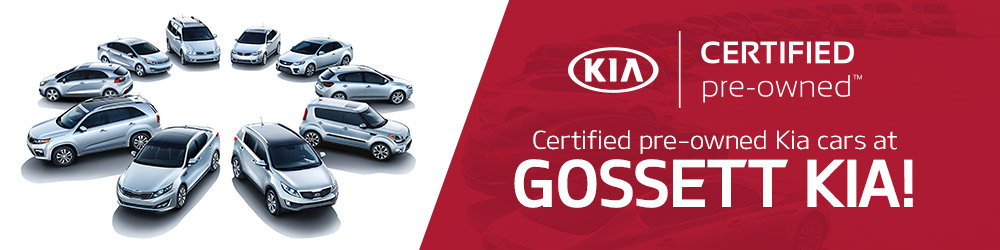 Certified Pre-Owned KIA Cars