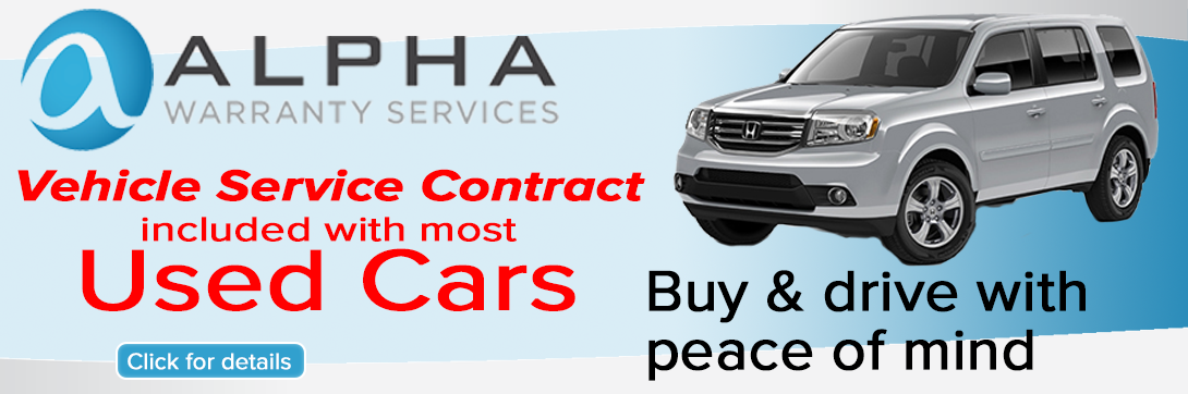 used warranty banner