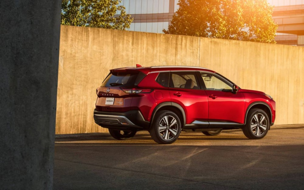Exterior image of the 2021 Nissan Rogue - Toronto, ON