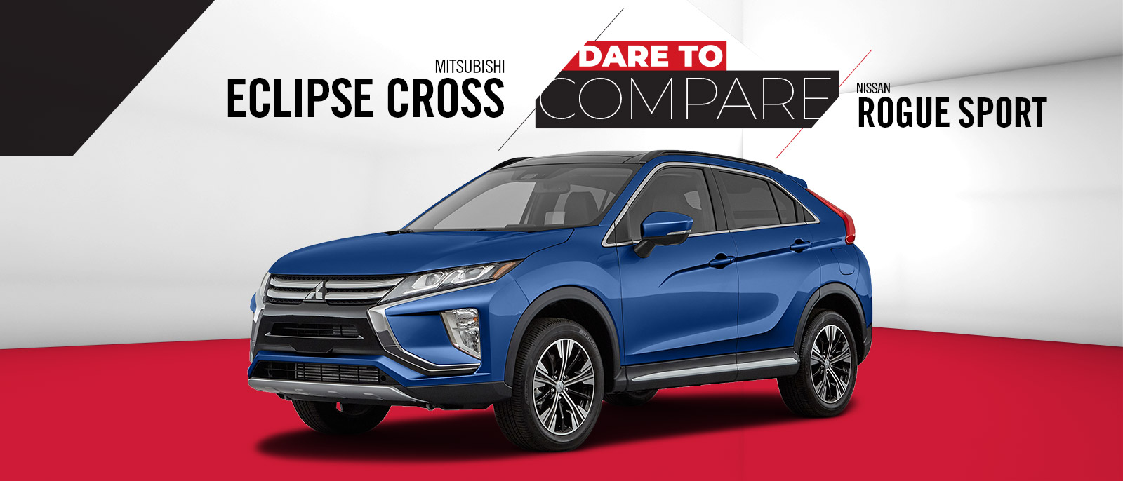 2020 Mitsubishi Eclipse Cross vs. Nissan Rogue Sport | Lafayette, LA