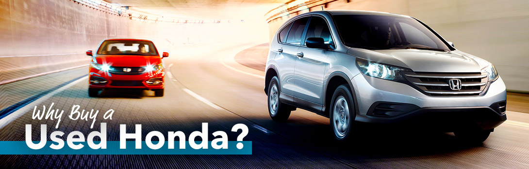 Why Buy A Used Honda?