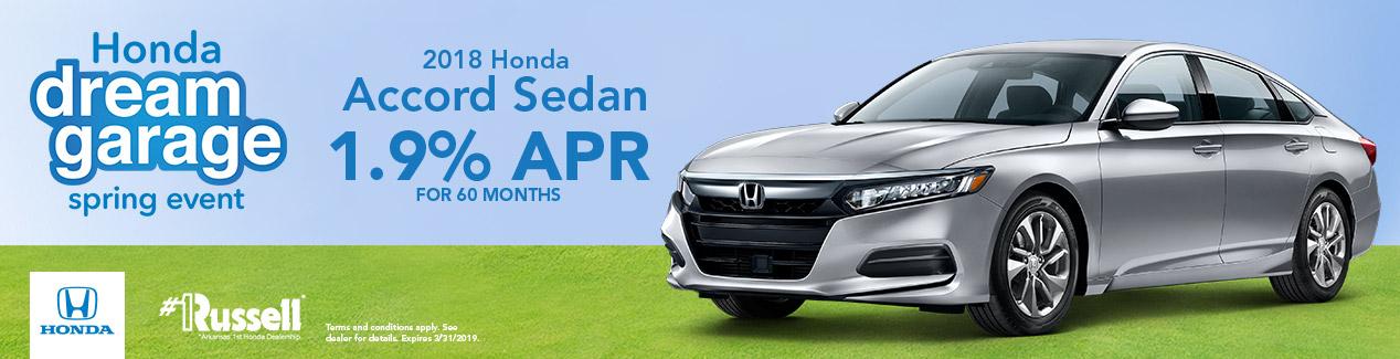Perfect Russell Honda   Honda Accord