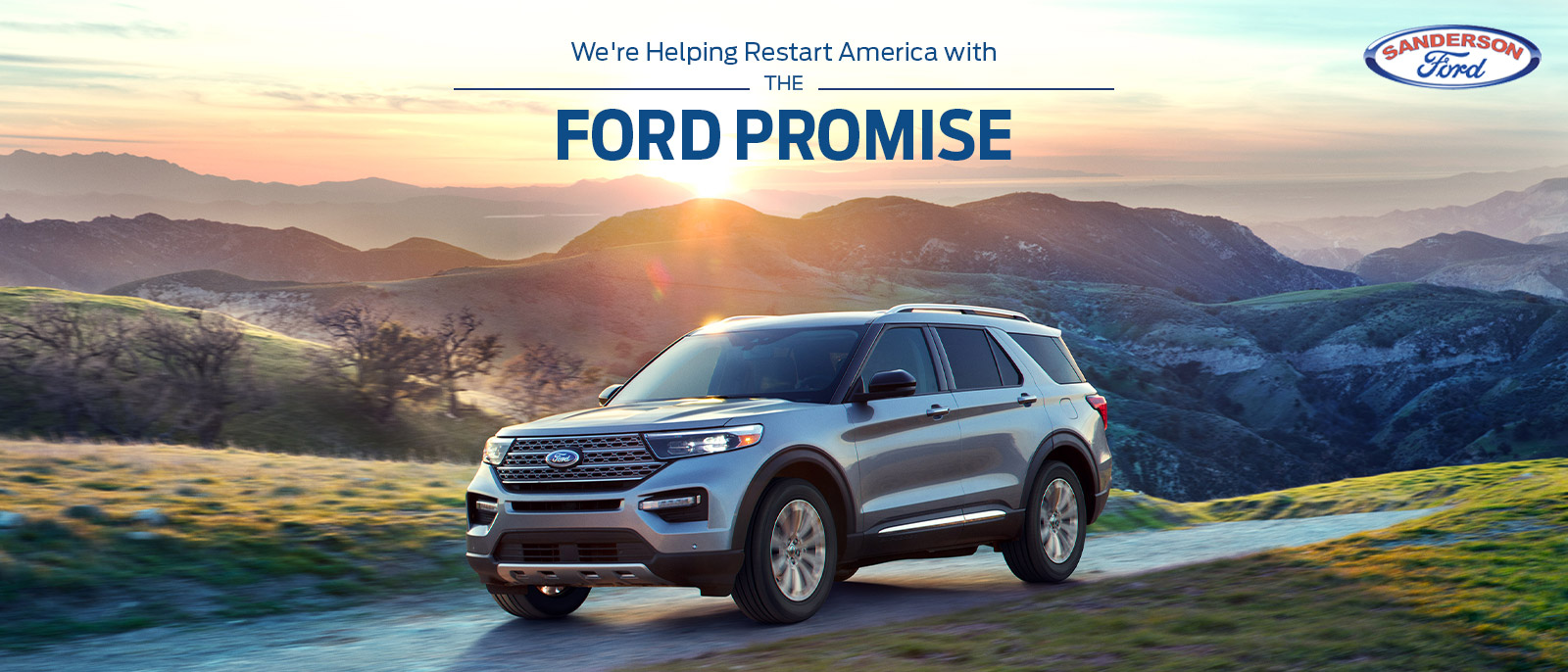 Ford Promise at Sanderson Ford in Glendale, AZ