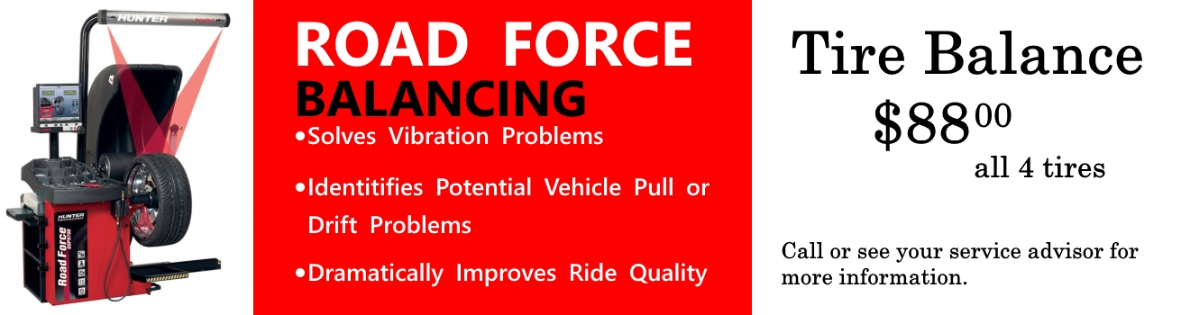 Road Force Tire Balance