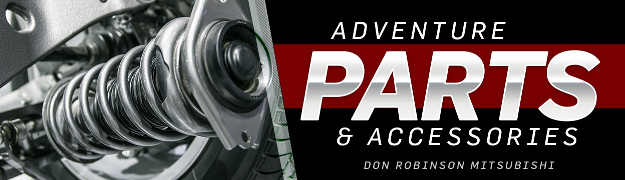 Parts & Adventure Accessories | Don Robinson Mitsubishi | St. Cloud, MN