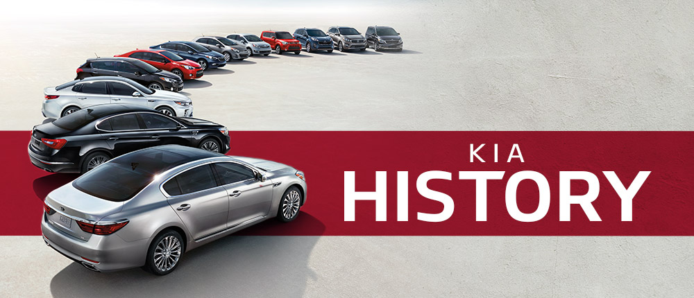 History of the KIA Automotive Brand