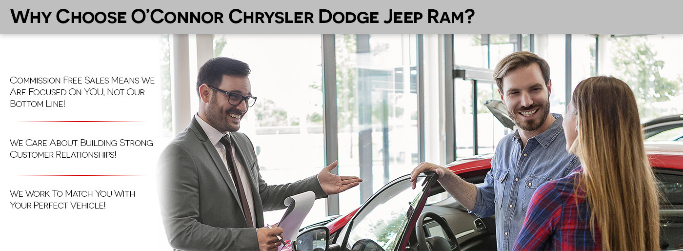 Why Choose O'Connor Chrysler Dodge Jeep Ram in Chilliwack BC
