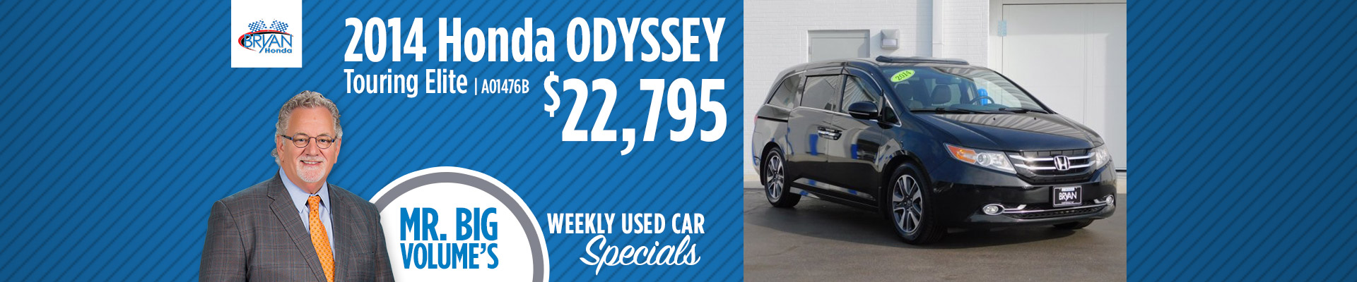 Bryan Honda - PreOwned Weekly Special