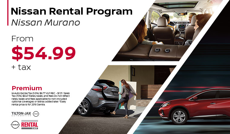 Rent The Nissan Murano | Quad Cities, IA