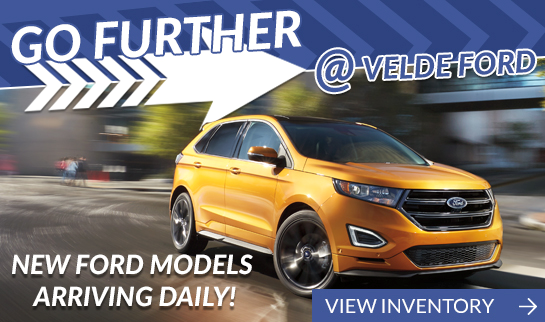Velde Ford New Vehicles