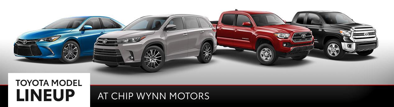 Used Toyota Models | Chip Wynn Motors | Paducah, KY