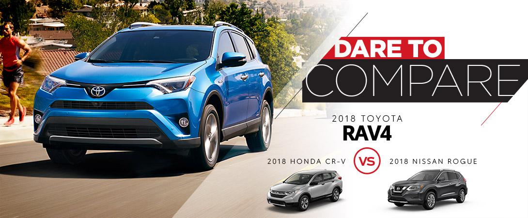 Rav4 Vs Rogue >> 2018 Toyota Rav4 Vs Honda Cr V Vs Nissan Rogue Calgary Ab