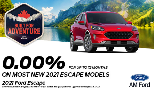 Save On The 2021 Escape | AM Ford | Trail, BC