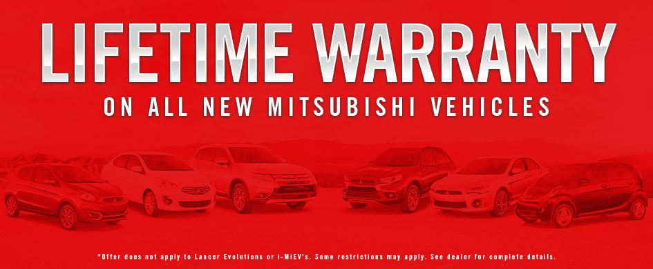 Lifetime Warranty Don Robinson Mitsubishi St Cloud Mn