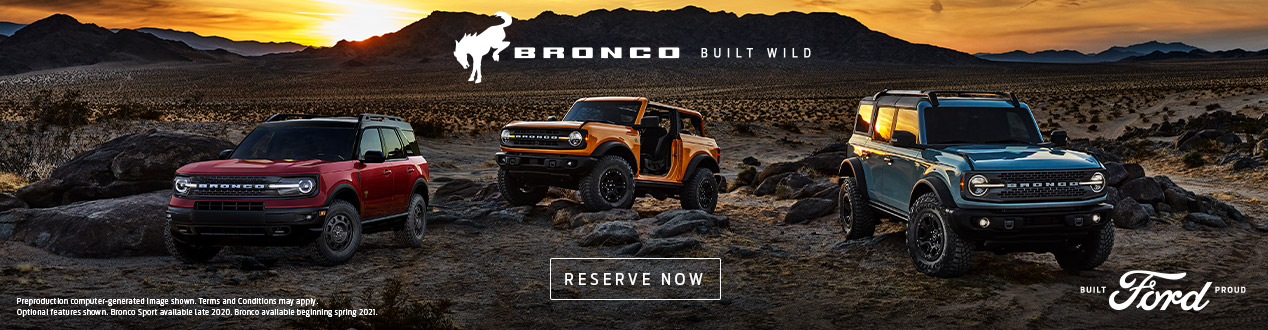 Bronco Reservation | Tropical Ford | Orlando, FL